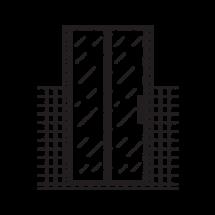 glass shower door icon